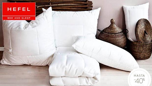 HEFEL: edredones y almohadas
