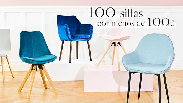100 sillas por menos de 100€