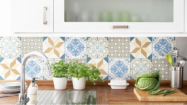 Azulejos adhesivos dan el pego westwing - Adhesivo para azulejos ...