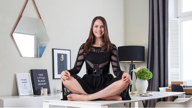 En casa de una yogui cool