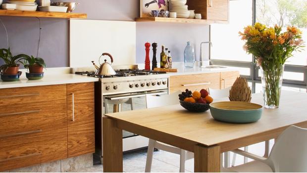 Una cocina actualizada