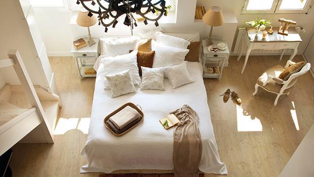 Dormitorio con charme