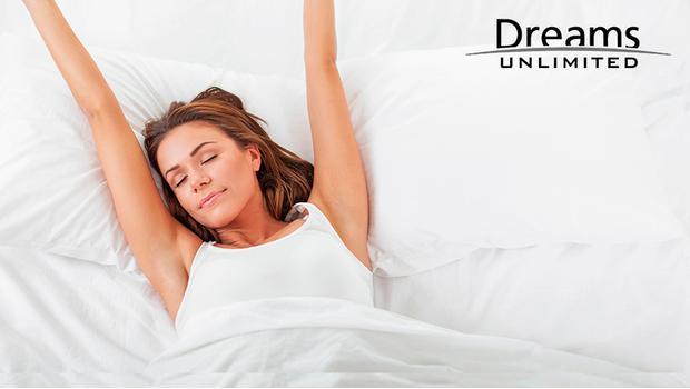 La cama de Dreams Unlimited