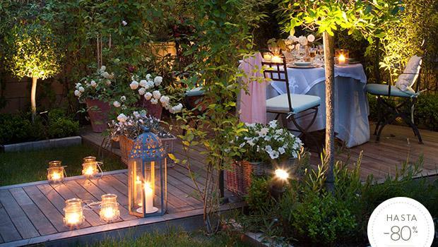 Jard n rom ntico detalles para el exterior westwing for El jardin romantico