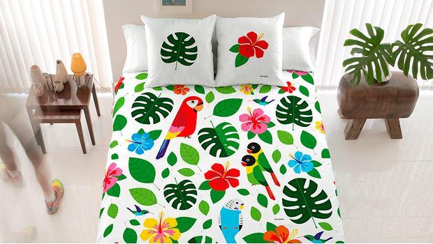 La cama de David Delfín