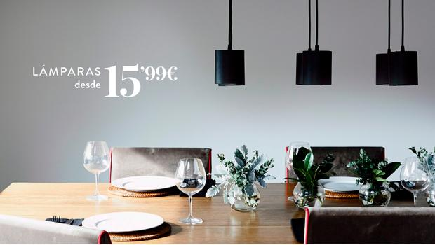 Lámparas desde 15,99€