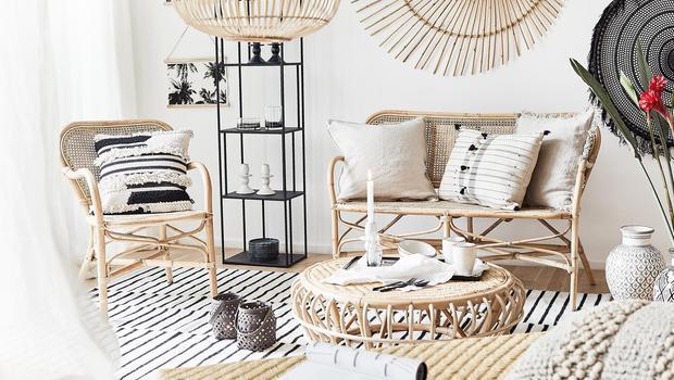 Look exótico para minimalistas
