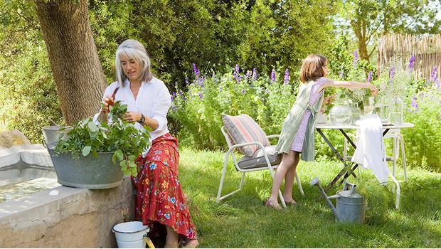 Disfrutar el jardín