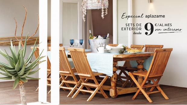 Especial sets terraza/porche
