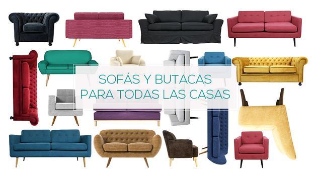 Un sofá para cada estilo