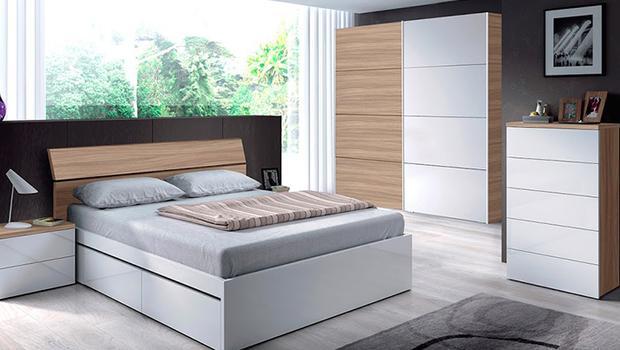 Dormitorio bien aprovechado