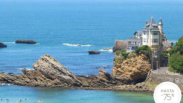Un hotel en Biarritz