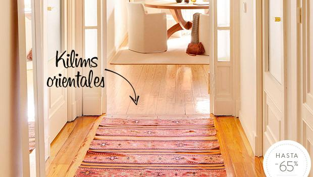 Alfombras tnicas kilims artesanales westwing for Alfombras etnicas