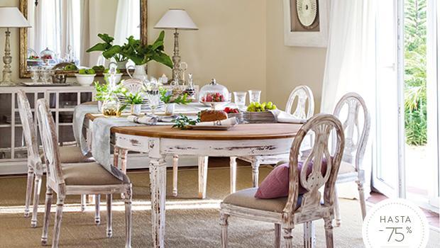 Muebles clásicos elegantes