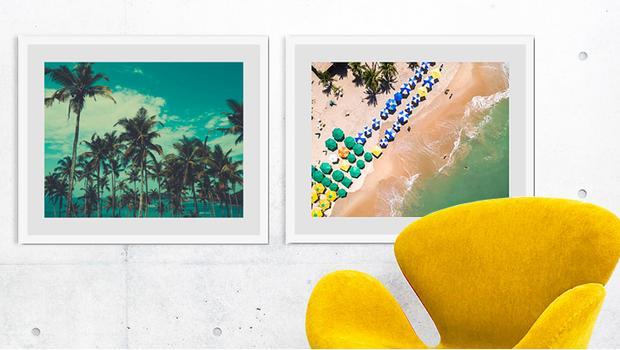 Prolongez l'été sur vos murs !