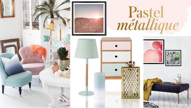 Pastell meets Metallic