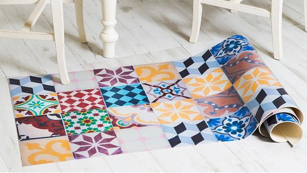 tapis vinyle l 39 incontournable westwing. Black Bedroom Furniture Sets. Home Design Ideas
