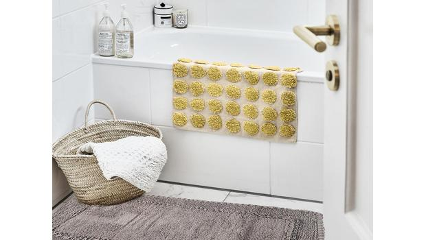 100% tapis de bain