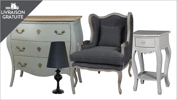 meuble, luminaire, fauteuil, crapaud, cabriolet, chiffonnier