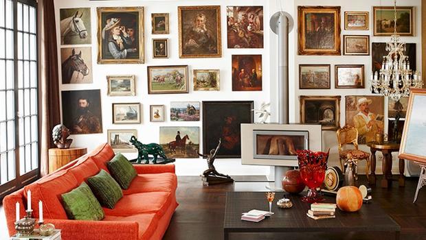 Appartement éclectique