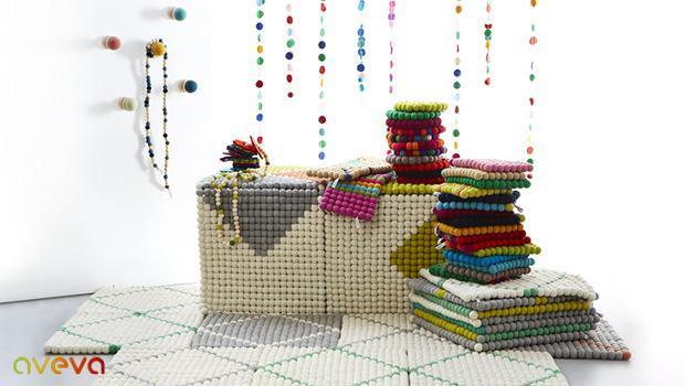 art de la table scandinave aveva design accessoires en feutre westwing. Black Bedroom Furniture Sets. Home Design Ideas