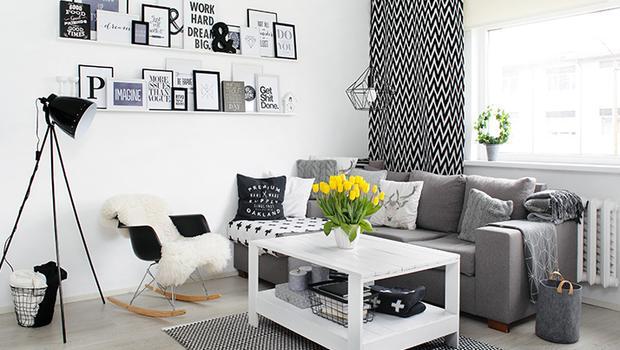 Scandi Black & White