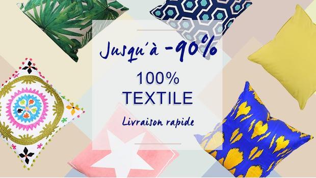 Super deals textile linge de maison tapis coussin