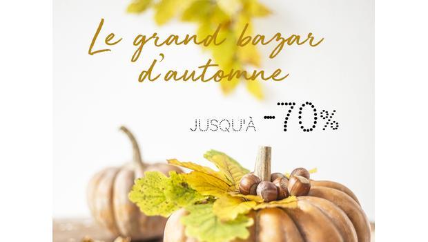 Grand bazar d'automne