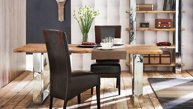 de la marque bois chiffons tables buffets indus jusqu 39 60 westwing. Black Bedroom Furniture Sets. Home Design Ideas