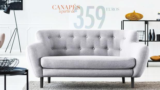 Canapés 3 places