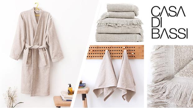 draps peignoir serviettes