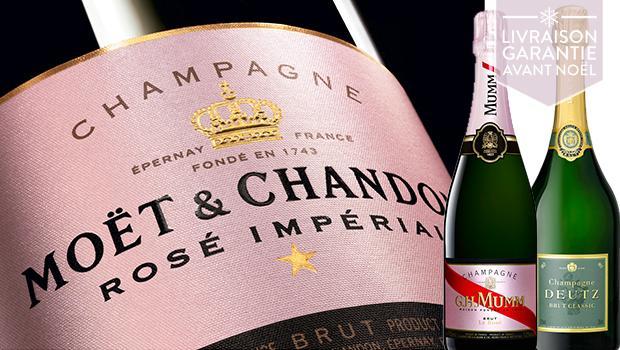 Champagnes prestigieux