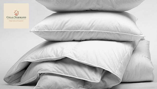 oreillers couettes colas normand sommeil qualité