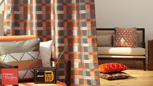 rideaux tissu compagnie des etoffes rideaux d co westwing. Black Bedroom Furniture Sets. Home Design Ideas