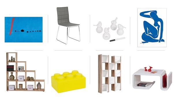 Déco et mobilier contemporains