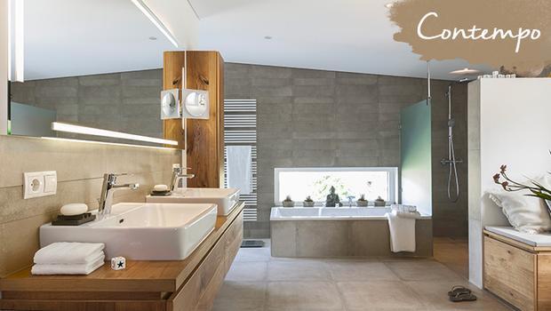 Salle de bain contempo