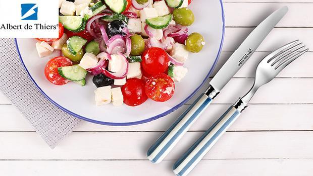 couteaux fourchettes cuillères ménagères