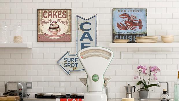 cuisine décoration rétro