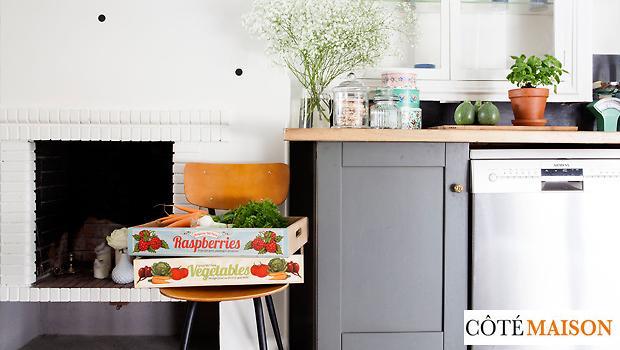 Cuisine rangement pot mint accessoires vintage westwing for Accessoire cuisine retro