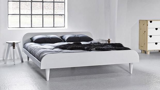 bed cadres de lit karup matelas literie