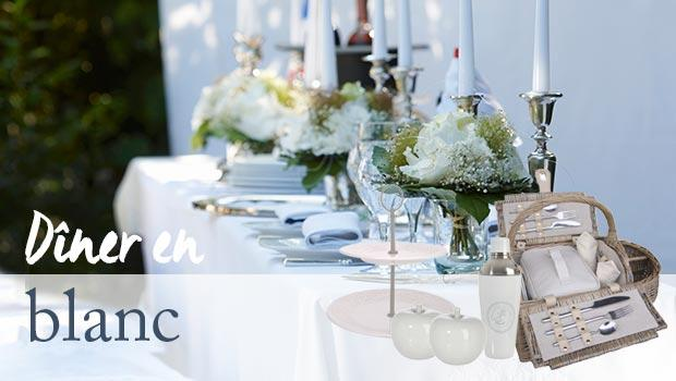 table tasse assiette blanc diner