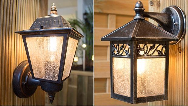 Lumière extérieur IP44 applique suspension jardin luminaires