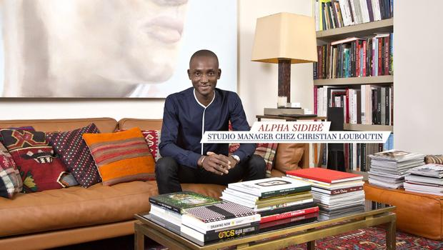 Chez Alpha Sidibé