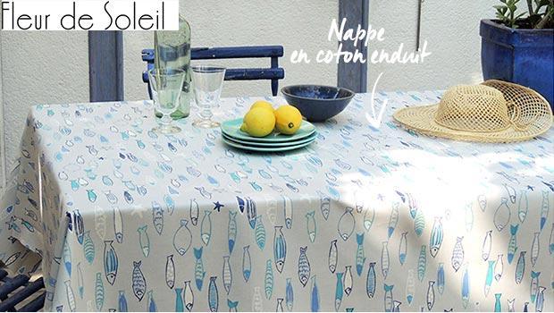 fleurs de soleil nappes jardin table