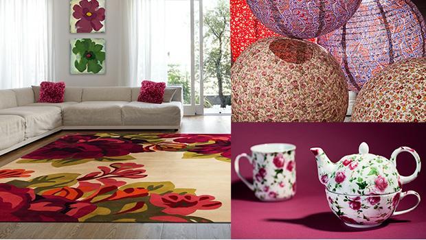 mobilier déco flower style classique shabby