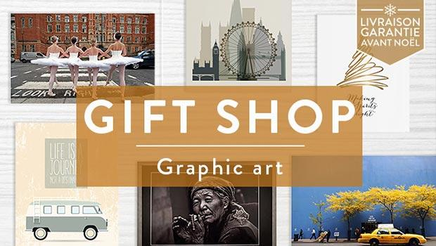 Gift- shop art graphic