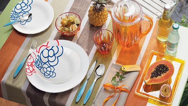 guzzini table coloree