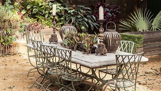 jardin, charme, amour