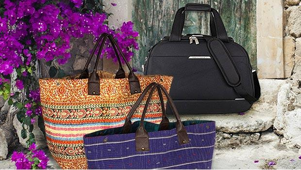 Karma living handbags