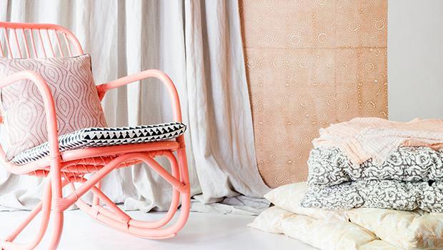 rotin banc fauteuil le monde sauvage coussin matelas soie coton